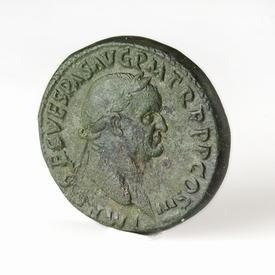 Roman Empire, Vespasianus (69-79 AD), Æ Sestertius