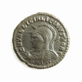 Roman Empire, Licinius II (317-324 AD), Æ follis