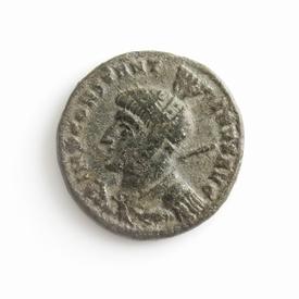 Roman Empire, Constantine I (307-337 AD), Æ follis