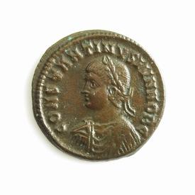 Roman Empire, Constantine II (317-340 AD), Æ follis