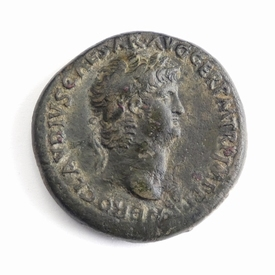 Roman Empire, Nero (54-68 AD), Æ Sestertius