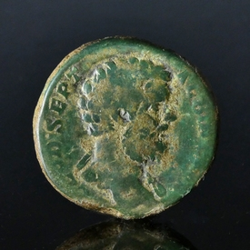 Roman Empire, Clodius Albinus (193-195 AD), Æ Sestertius