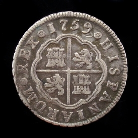 Spain, 2 Reales 1759, Madrid mint