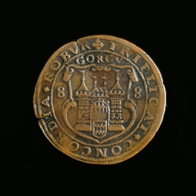 Rekenpenning Gorinchem 1588