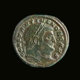 Roman Empire, Constantine I (as Caesar 293-305 AD), Follis