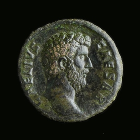 Roman Empire, Aelius as Caesar (136-138 AD) Æ As