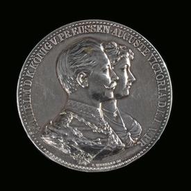 Prussia, Wilhelm II (1888-1918), silver medal anniversary