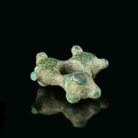 Celtic tribes, bronze proto ring money, rare type