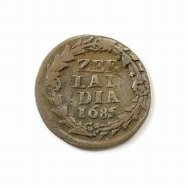 Zeeland, duit 1685