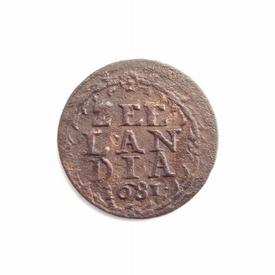 Zeeland, duit 1681