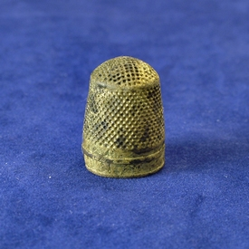 Dutch brass thimble