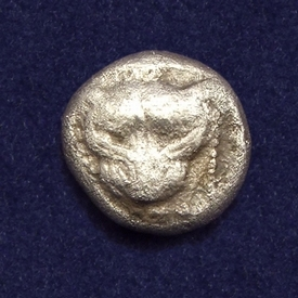 Ancient Greece, Ionia, Miletos, AR 1/8 Stater (Triobol)