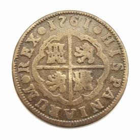 Spain, 2 Reales 1761, Madrid mint