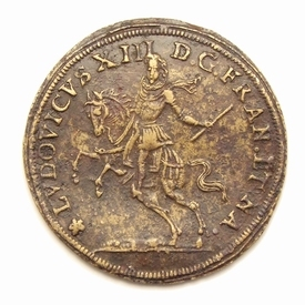 Nuremberg, jeton of King Louis XIII by Wolf Laufer II