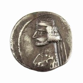 Ancient Persia, Parthian Empire, Orodes II, AR Drachm