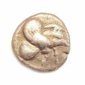 Ancient Greece, Ionia, Klazomenai, AR Diobol