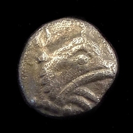 Ancient Greece, Ionia, Teos, AR Tetartemorion