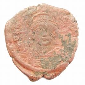 Byzantine Empire, Justinian I (527-565 AD), Æ follis