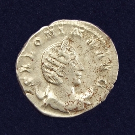 Roman Empire, Salonina (wife of Gallienus), AR Antoninanus