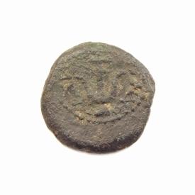 Judaea, Alexander Jannaeus (103-76 BC), Æ 14 Prutah