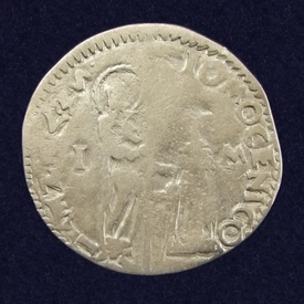 Italian States, Republic of Venice, AR Marcello (Mezza Lira)