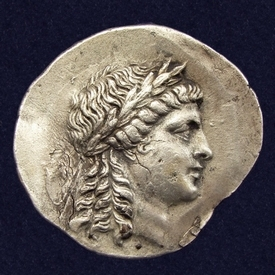 Ancient Greece, Aeolis, Myrina, AR Tetradrachm