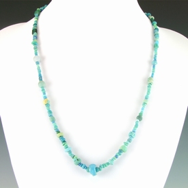 Roman necklace with faience and glass beads