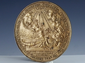 Sweden, medal 'Death of Gustavus II at Battle of Lützen'