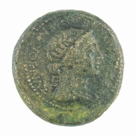 Roman Provincial, Thessalonica, Mark Anthony - Octavian Æ29