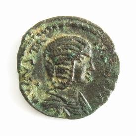 Roman Provincial, Macedon, Julia Domna, Æ 23 of Stobi