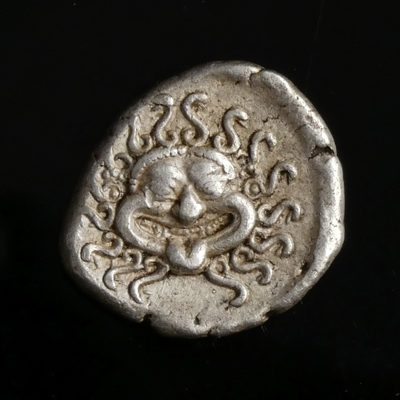 Ancient Greece, Apollonia Pontika, Thrace, AR Drachm