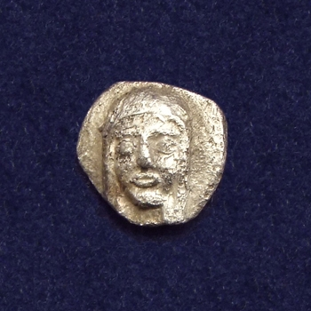 Ancient Greece, Ionia, Kolophon, 1/2 obol (AR hemiobol)