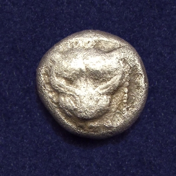 Ancient Greece, Ionia, Miletos, AR 1/8 Stater (Triobol)