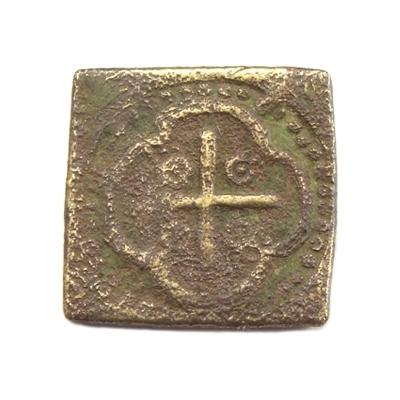 Antwerp, coin weight for Cruzado, Gerrit Geens