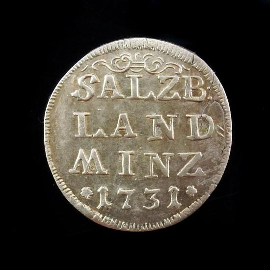 Austria, Salzburg, 4 Kreuzer (batzen) 1731