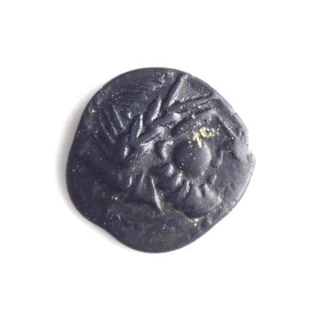 Danubian Celts, Pannonia, AR Drachm, 'Kugelwange' type