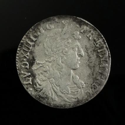 France, Montpelllier, 1/12 Ecu 'au buste juvénile' 1660