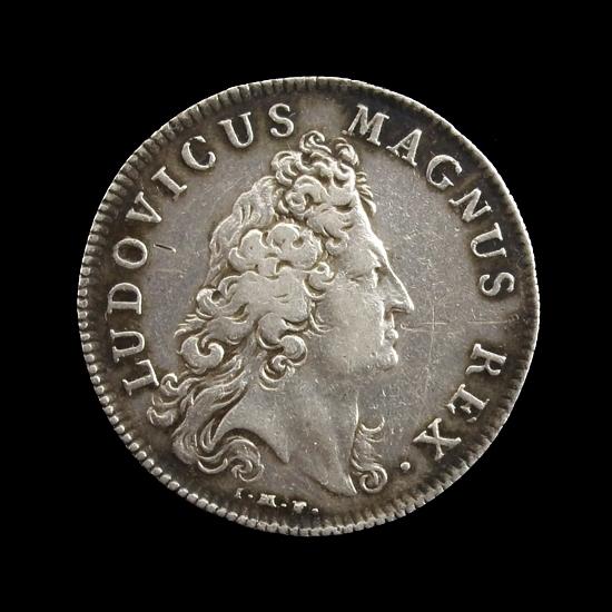 France, silver jeton Chambre aux deniers 1702