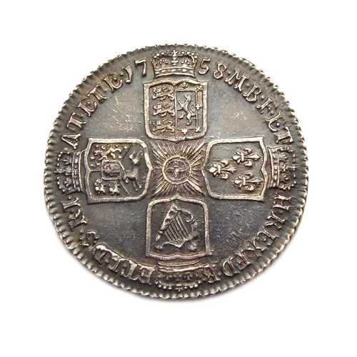 Great Britain, Shilling 1758