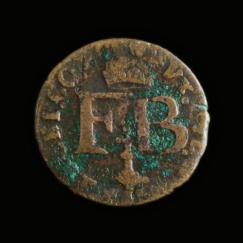 Luik / Liège, Liard 1642, Ferdinand van Beieren (1612-1650)