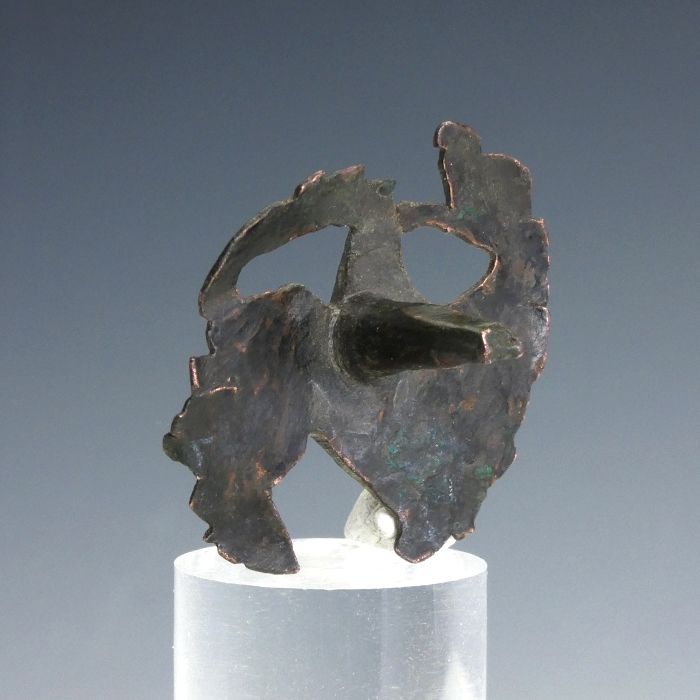 Medieval stud or mount with griffin