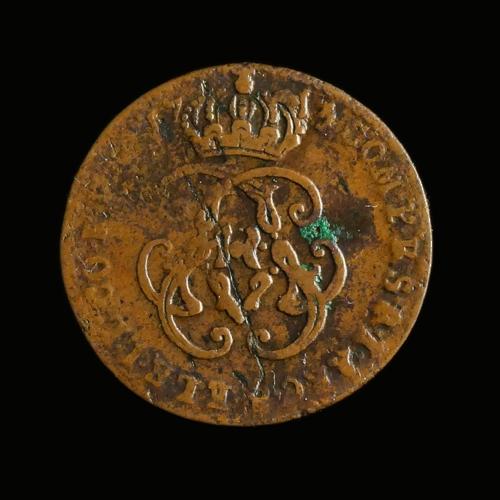 Namen, Liard 1713, Maximiliaan-Emanuel van Beieren (1711-14)