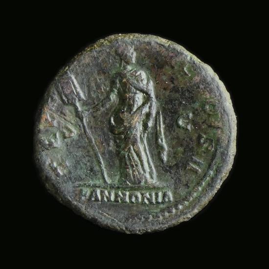 Roman Empire, Aelius as Caesar (136-138 AD) Æ As