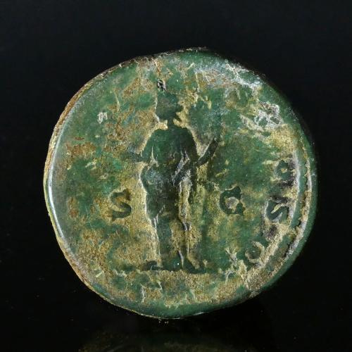 Roman Empire, Clodius Albinus (193-195 AD), Æ Sestertius