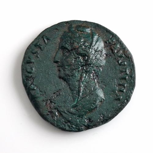 Roman Empire, Faustina (wife Antoninus Pius), Æ Sestertius