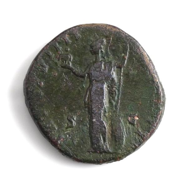 Roman Empire, Marcus Aurelius (161-180 AD), Æ Sestertius