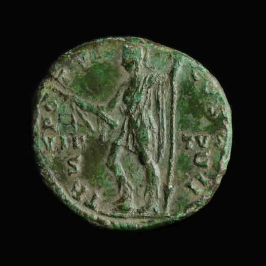 Roman Empire, Marcus Aurelius (Caesar 139-161 AD), Æ As