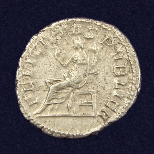 Roman Empire, Salonina (wife of Gallienus), AR Antoninianus