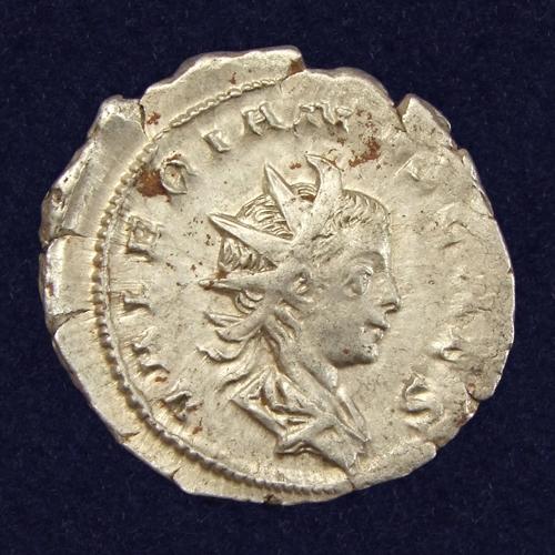 Roman Empire, Valerianus II (256-258 AD), Antoninianus