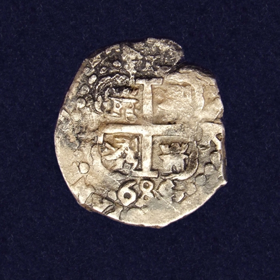 Spain, 1 Reales, 1689, Peru, Lima mint (Colonial Spain)
